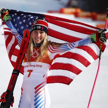 Image: Alpine Skiing - Winter Olympics Day 6