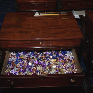 The desk, which Toomey has maintained since 2015, is located in the back row on the Republican side of the chamber. During the impeachment trial of President Bill Clinton in 1999, Senator Rick Santorum (R-PA) ran the candy drawer - providing  Senators with York Peppermint Patties. Only water, milk and candy is allowed to be consumed on the Senate floor.