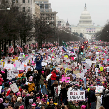 Image: Best of Year 2017: Thousands Attend Women's March On Washington