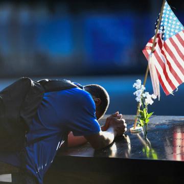 NY: 20th Anniversary of the September 11th terrorist attacks at Ground Zero