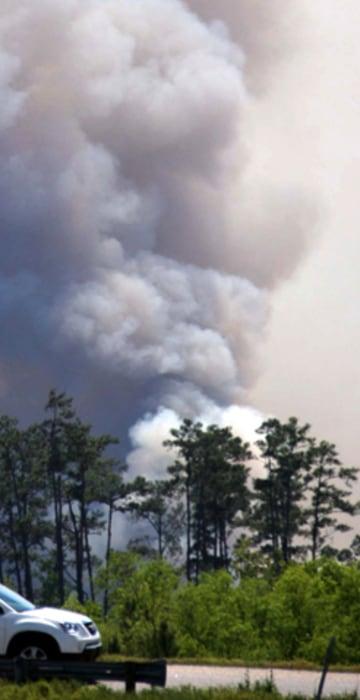 South Carolina wildfires