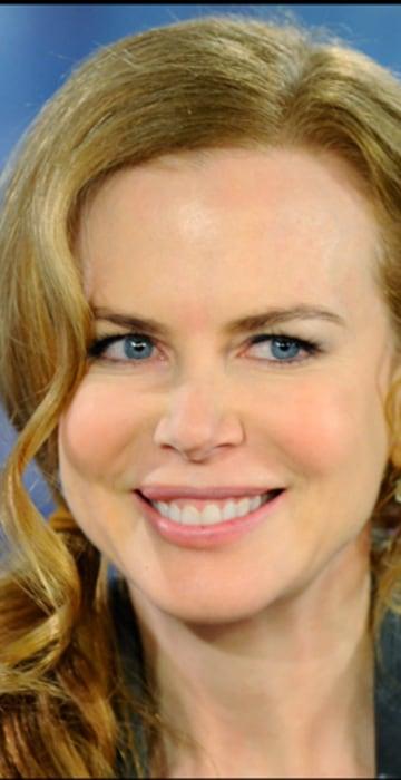 Image: Nicole Kidman, 1997; 2009