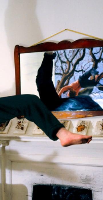 Image: Man falling