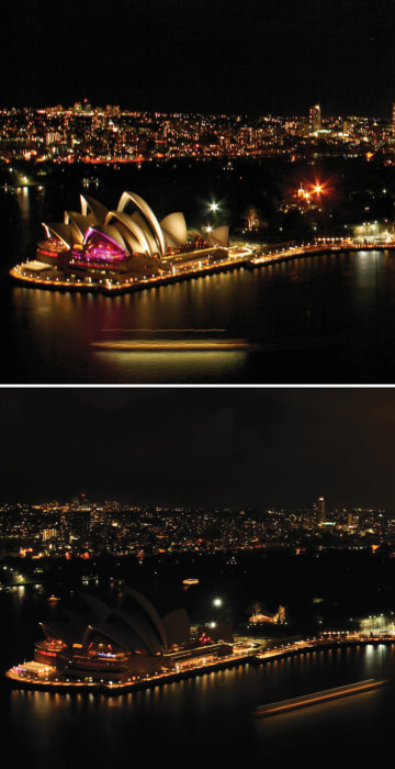 the earth hour by the world Skylines across the world will go dark tonight as millions celebrate world wide  fund for nature's earth hour to spark global awareness and.