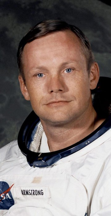 Image: Neil Armstrong, the 1st man on the moon, has died at age 82