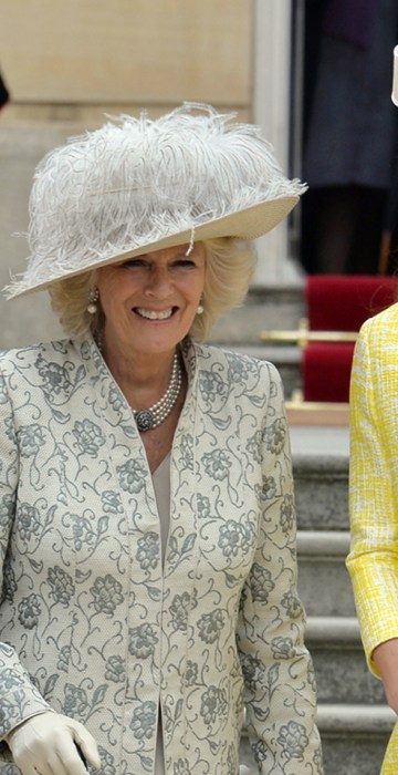 Image: Queen Elizabeth II Hosts A Garden Party At Buckingham Palace
