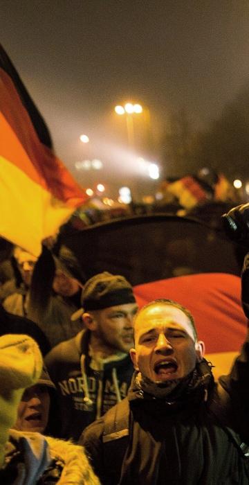 Image: Pegida Protesters March In Berlin