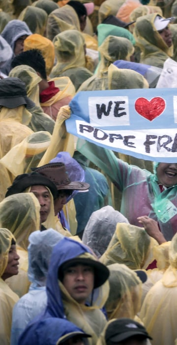 Image: Pope Francis Visits Philippines - Day 3