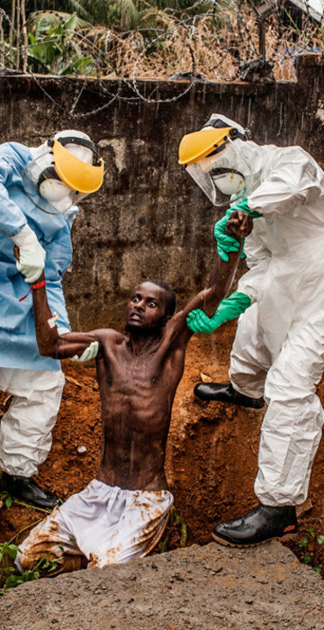 Ebola Virus for National Geographic Magazine