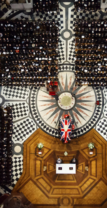 Image: Baroness Thatcher funeral