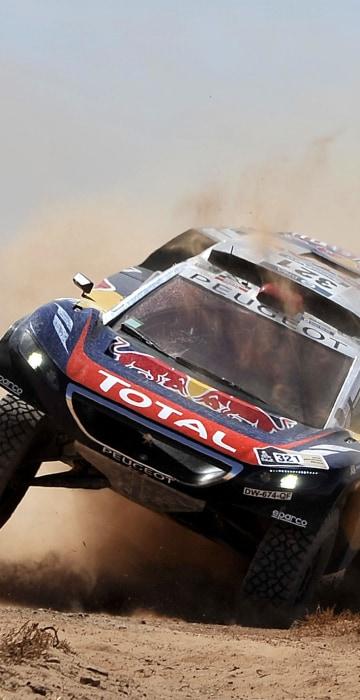 Image: TOPSHOT-AUTO-MOTO-RALLY-DAKAR-STAGE6