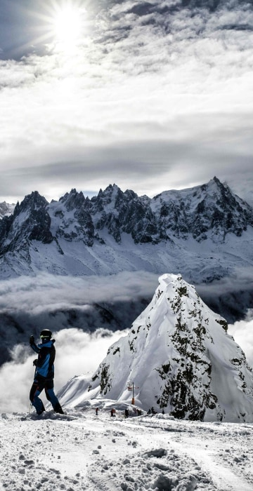 Image: The Mont Blanc massif