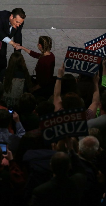 Image: Ted Cruz Campaigns Across South Carolina One Day Before Primary