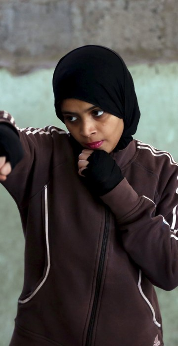 Image: Pakistani Women Boxing Club 4