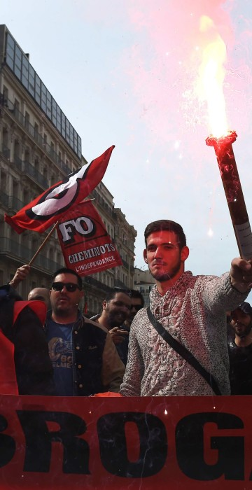 Image: FRANCE-ECONOMY-LABOUR-REFORM-STRIKE-DEMO