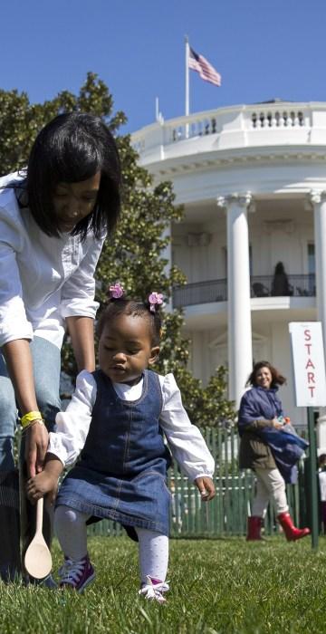 Image: President Obama Hosts White House Easter Egg Roll