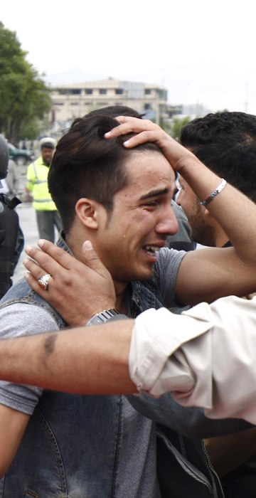 Image: At least 28 people killed in Kabul suicide attack
