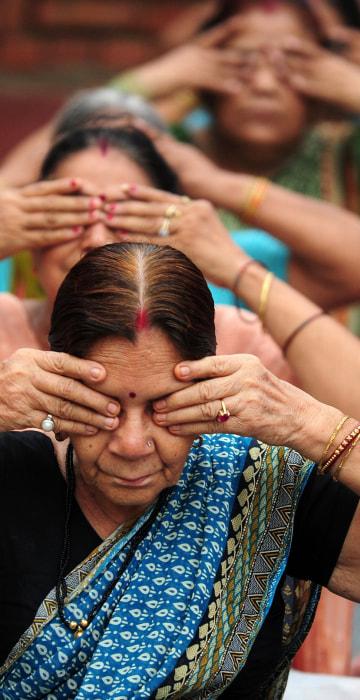 Image: INDIA-HEALTH-YOGA