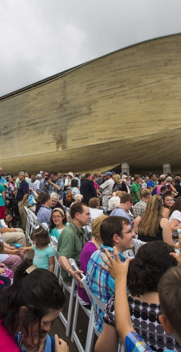 Image: Ark Encounter, Replica of Noah's Ark, Opens in Kentucky