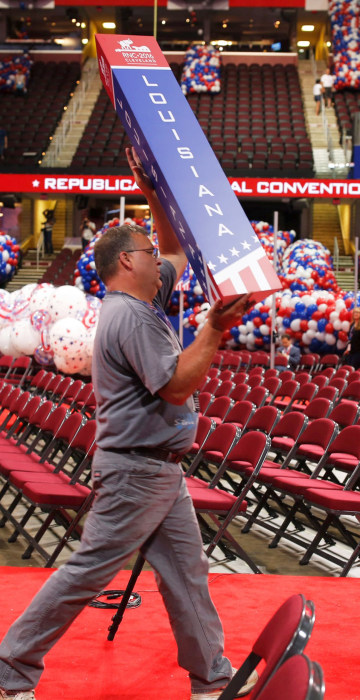 Image: US-VOTE-REPUBLICANS-CONVENTION