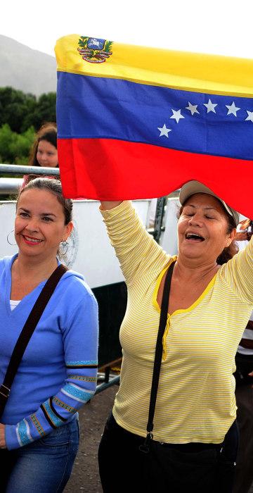 Image: VENEZUELA-COLOMBIA-ECONOMY-CRISIS-BORDER