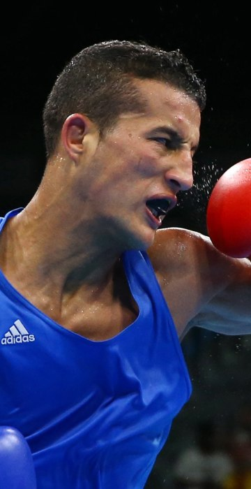 Image: Boxing - Men's Bantam (56kg) Round of 32 Bout 106