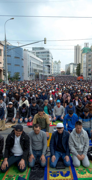 Image: RUSSIA-RELIGION-ISLAM-EID