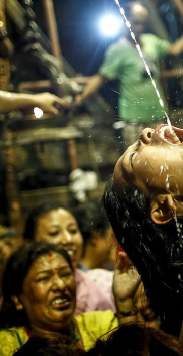 Image: Indra Jatra festival in Kathmandu