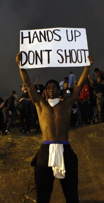 Image: BESTPIX State Of Emergency Declared In Charlotte After Police Shooting Sparks Violent Protests
