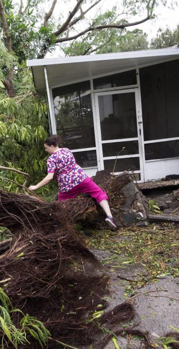 Image: Hurricane Matthew in Miami, Florida