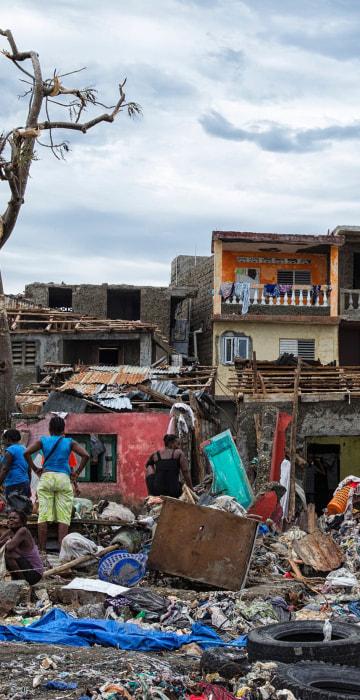 Image: HAITI-WEATHER-HURRICANE-MATTHEW-JEREMIE