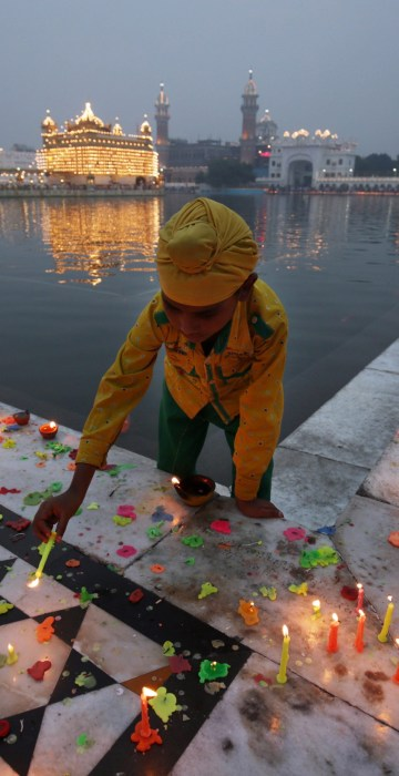 Image: Diwali festival and Bandi Chorh Divas celebrations in Amritsar