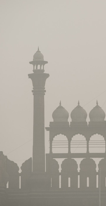 Image: Delhi Schools Close Due To Extreme Levels Of AIr Pollution