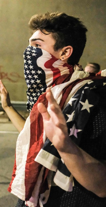 Image: TOPSHOT-US-VOTE-PROTEST