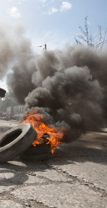 Image: Haiti elections aftermath