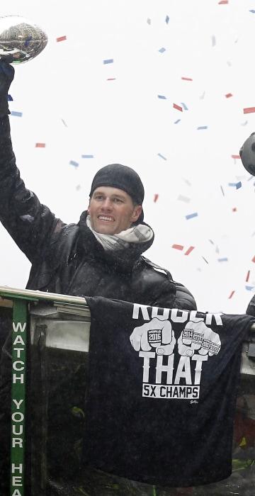 Image: NFL: Super Bowl LI Champions-New England Patriots Parade