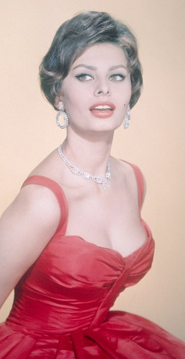 Sophia Loren - Salvatore Ferragamo Sofia Bag