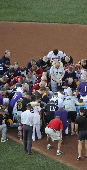 Image: *** BESTPIX *** BESTPIX Lawmakers Play In Congressional Baseball Game One Day After Shooting Incident *** BESTPIX ***