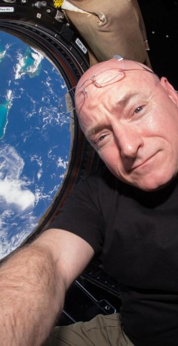 Image: Year in Space 15-Cupola Selfie