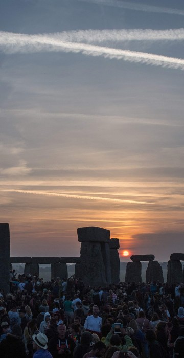 Image: Summer Solstice at Stonehenge in Wiltshire