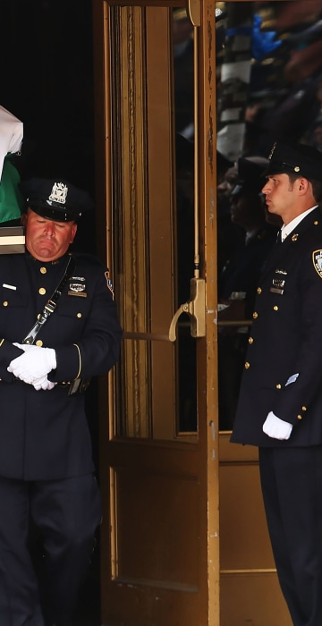 Image: Funeral Held For NYPD Officer Slain While On Duty In The Bronx
