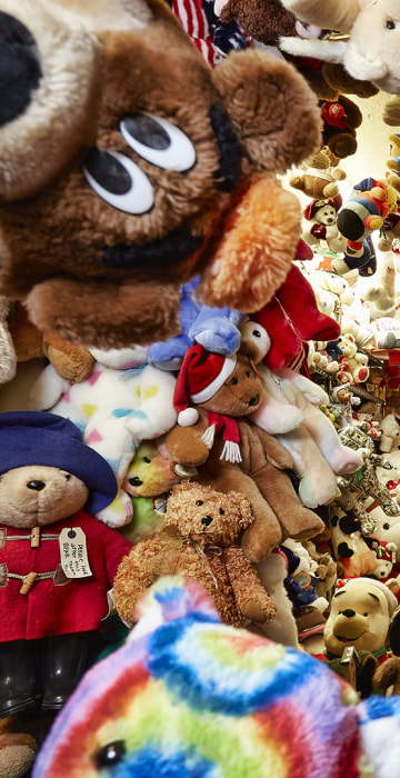 Jackie Miley - Largest Collection Of Teddy Bears