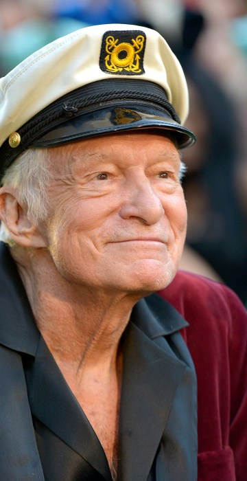 Image: Playboy Founder Hugh Hefner Dies At 91