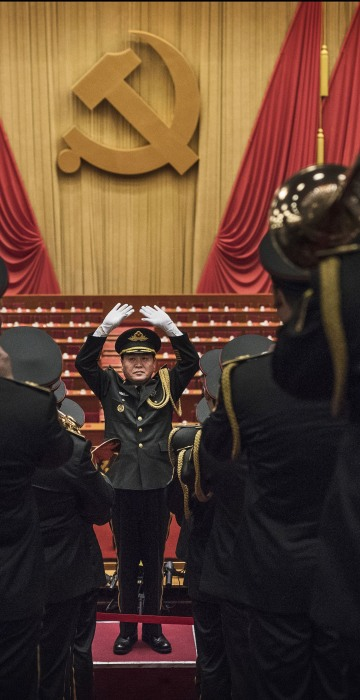 Image: 19th National Congress Of The Communist Party Of China (CPC) - Opening Ceremony
