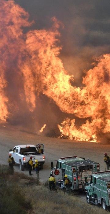 Image: Thomas Fire in California