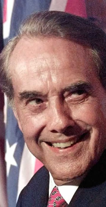 Image: Republican presidential candidate Bob Dole