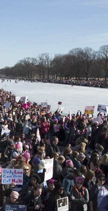 Image: Women's March in Washington DC