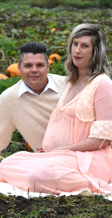 A Very Special Maternity Shoot: Announcing the Arrival of Burston Cameron