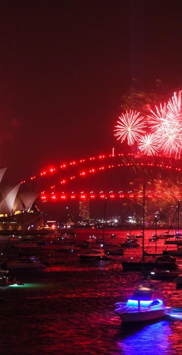 Image: Sydney Celebrates New Year's Eve 2019