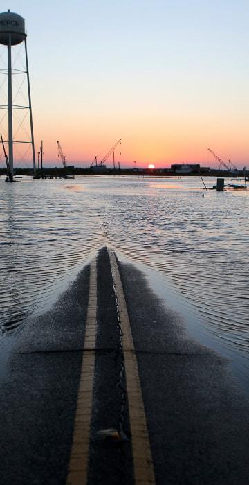Image: BESTPIX - Hurricane Delta Takes Aim At Louisiana's Gulf Coast